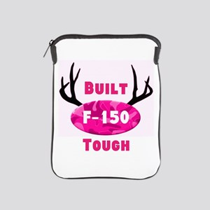F150 Pink Camo Deer Horns iPad Sleeve