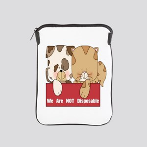 Pets Not Disposable iPad Sleeve