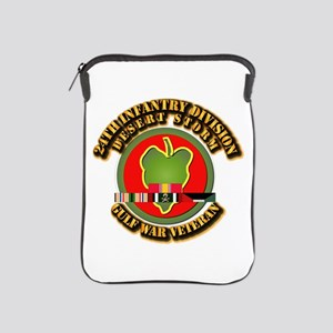 Army - DS - 24th INF Div iPad Sleeve