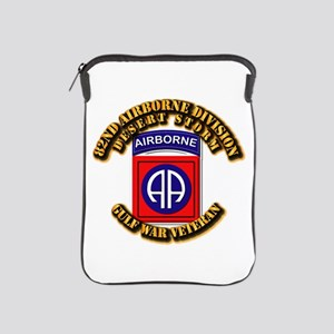 Army - DS - 82nd ABN DIV - DS iPad Sleeve
