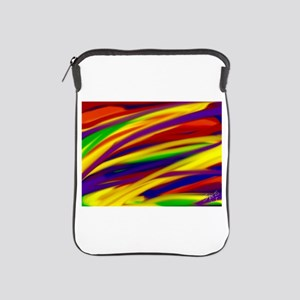 Gay rainbow art iPad Sleeve