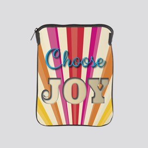 Choose Joy iPad Sleeve