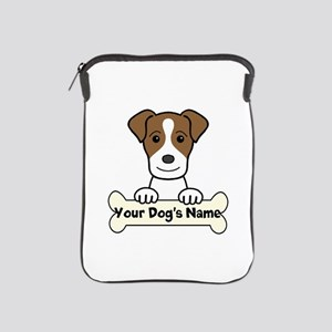 Personalized Jack Russell iPad Sleeve