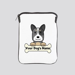 Personalized Cattle Dog iPad Sleeve