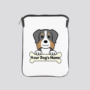 Personalized Australian Shepherd iPad Sleeve