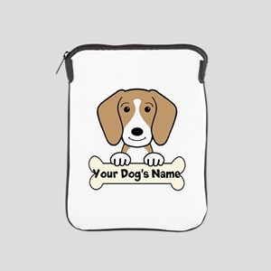 Personalized Beagle iPad Sleeve