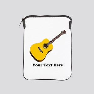 Guitar Personalized iPad Sleeve