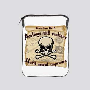 Pirates Law #8 iPad Sleeve