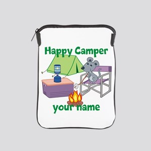 Custom Happy Camper Mouse iPad Sleeve