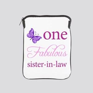 One Fabulous Sister-In-Law iPad Sleeve
