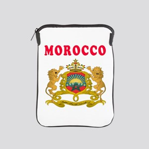 Morocco Coat Of Arms Designs iPad Sleeve
