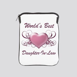 World's Best Daughter-In-Law (Heart) iPad Sleeve