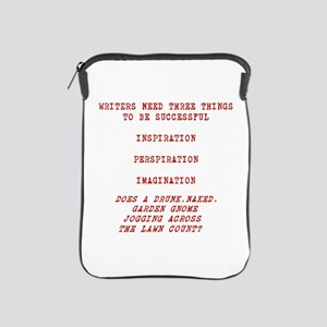 Writer Inspiration-Red Ipad Sleeve