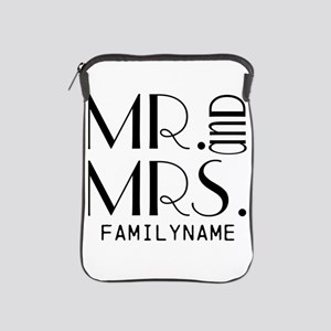 Personalized Mr. Mrs. iPad Sleeve