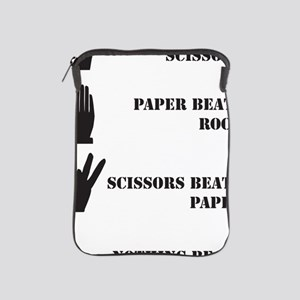 Rock Paper Scissors Blowjob iPad Sleeve