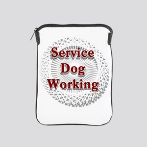 SERVICE DOG SHOP iPad Sleeve