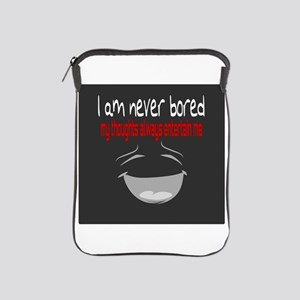 I am never bored iPad Sleeve