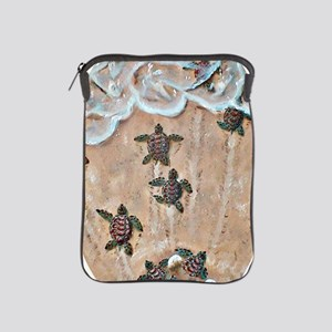 2-Race To The Sea oval copy iPad Sleeve