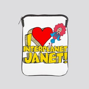 I Heart Interplanet Janet! iPad Sleeve