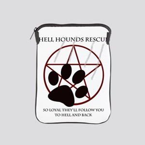 Hell Hounds Rescue wt iPad Sleeve