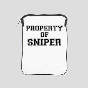 Property of SNIPER iPad Sleeve