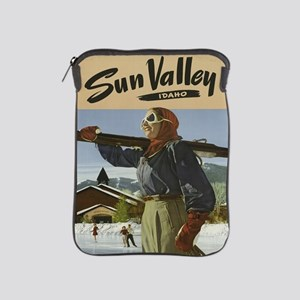 Vintage poster - Sun Valley iPad Sleeve