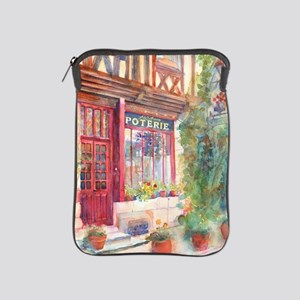 French Store Front Europe Street Scene iPad Sleeve