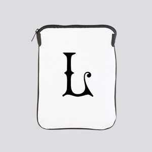 Royal Monogram L iPad Sleeve