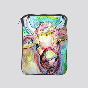 Cow! Colorful, art! iPad Sleeve