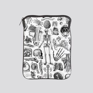 anatomy_W_twin_duvet iPad Sleeve