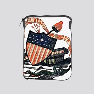 Vintage American Shield iPad Sleeve