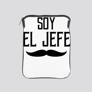 Soy El Jefe Black, Boss Gift, Gift For iPad Sleeve