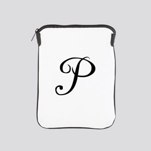 A Yummy Apology Monogram P iPad Sleeve