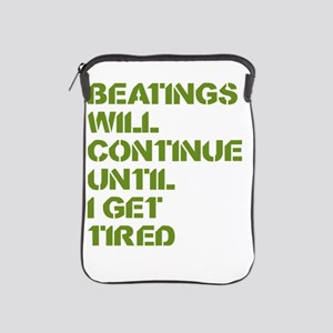 Beatings iPad Sleeve