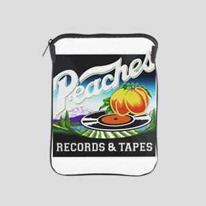 Peaches Records and Tapes logo iPad Sleeve