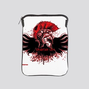 Red splatter overlay iPad Sleeve