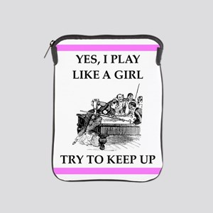 play ike a girl iPad Sleeve