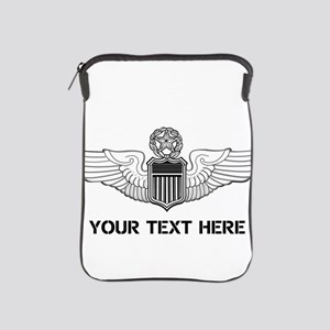 PERSONALIZED COMMAND PILOT WINGS iPad Sleeve