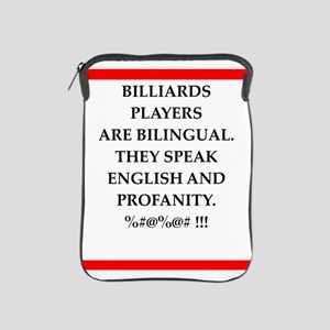 Billiards joke iPad Sleeve