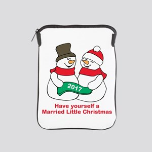 2017 Newlyweds iPad Sleeve