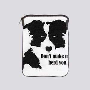 Border Collie Art iPad Sleeve