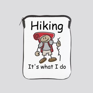 Hiking its what I do T-shirts and gifts. iPad Slee