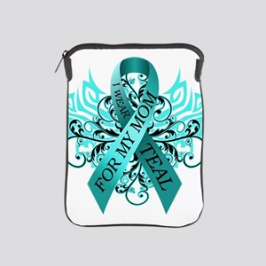 I Wear Teal for my Mom iPad Sleeve