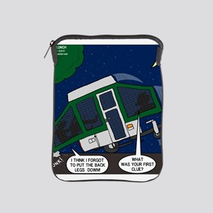Pop-Up Camper Problems iPad Sleeve