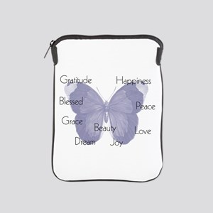 Inspirational Butterfly iPad Sleeve