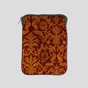 ROYAL RED AND GOLD iPad Sleeve