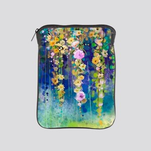 Floral Painting iPad Sleeve