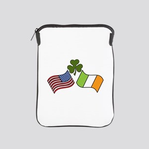 American Irish Flag iPad Sleeve