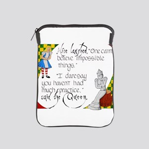 Alice and the White Queen iPad Sleeve