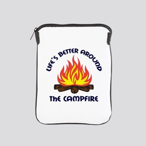 AROUND THE CAMPFIRE iPad Sleeve